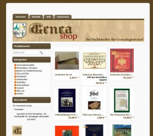 Geneashop-online